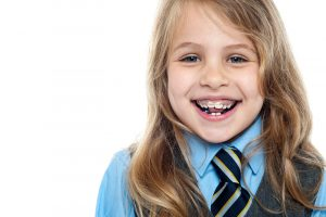 dental braces on children